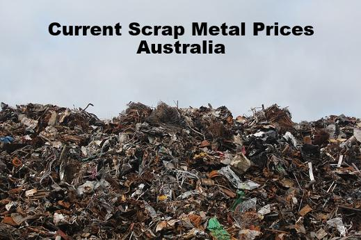 Current Scrap Metal Prices Alice Springs