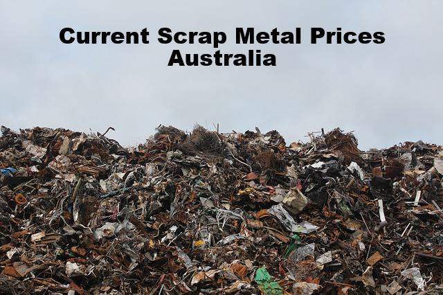 Current Scrap Metal Prices Australia
